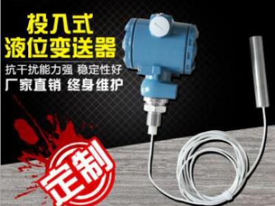 防腐投入式液位变送器