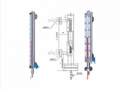 稀硫酸液位计/磁翻板液位计厂家